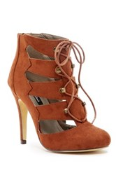 Michael Antonio Laurence Lace Up Bootie Brown