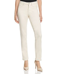 Nydj Sheri Slim Super Sculpt Jeans In Cream