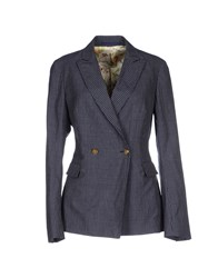 Massimo Alba Suits And Jackets Blazers Women Dark Blue