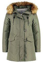 Bomboogie Down Coat Army Green Khaki