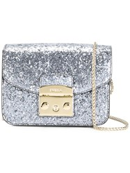 Furla Glitter Crossbody Bag Metallic