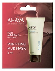 Ahava Purifying Mud Mask Single Sachet 0.27 Oz. No Color