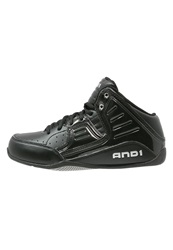 And 1 And1 Rocket 4 Basketball Shoes Black Silver