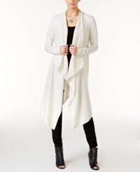 Bar Iii Cascade Duster Cardigan Only At Macy's Natural