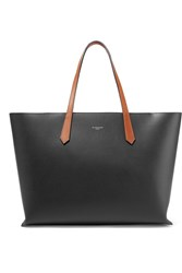 Givenchy Gv Two Tone Leather Tote Black Usd