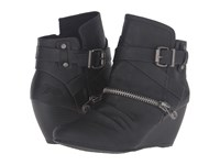 Blowfish Bayard Black Old Ranger Pu Women's Zip Boots