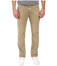 Ag Adriano Goldschmied Matchbox Slim Straight In 2 Years Infantry Khaki 2 Years Infantry Khaki Men's Casual Pants
