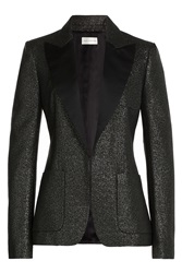 Faith Connexion Blazer With Glitter Fabric Black