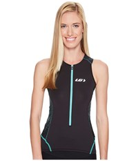 Louis Garneau Pro Carbon Sleeveless Tri Top Black Mojito Women's Sleeveless