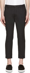 Dsquared Grey Dan Elastic Waist Trousers