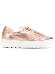 Philippe Model Madeline Sneakers Pink And Purple