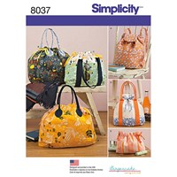 Simplicity Bags Sewing Pattern 8037