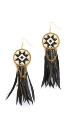 Fiona Paxton Dakota Earrings Black Multi