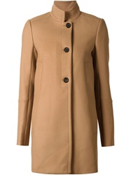 Proenza Schouler Buttoned Overcoat Brown