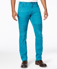 Lrg Men's Payola True Taper Twill Pants Dark Teal