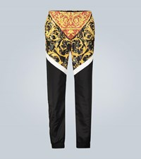 Versace Technical Fabric Trackpants Multicoloured