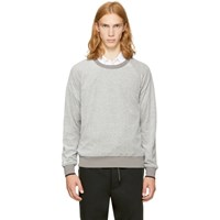 3.1 Phillip Lim Grey Velour Sweatshirt