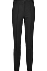 Tibi Stretch Ponte Skinny Pants Black