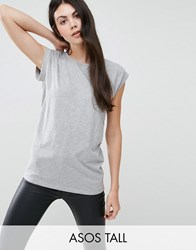 New Look Tall Boyfriend T Shirt Grey