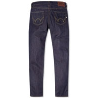 Edwin Ed 80 Slim Taper Jean Unwashed Rainbow Selvedge