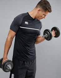 Canterbury Of New Zealand Pro Dry T Shirt In Black E546666 989 Black