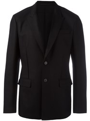 Givenchy Two Button Blazer Black