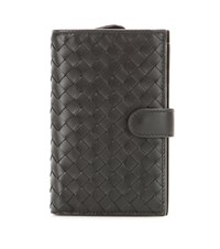 Bottega Veneta Intrecciato Leather Wallet Brown