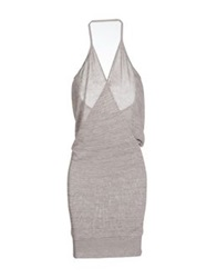 Daniele Alessandrini Sleeveless Sweaters Grey