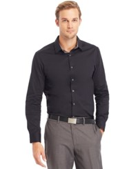 Kenneth Cole Reaction Solid Shirt Black