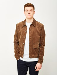 The Idle Man Corduroy Worker Jacket Brown