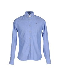 Marville Shirts Shirts Men Sky Blue