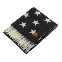Gant Allover Star Throw 130X180cm Navy