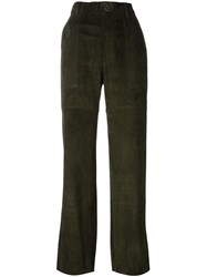 Stouls 'Tabrouk Velours' Trousers Green