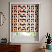 Orla Kiely Multi Stem Roller Blinds Tomato Multicoloured