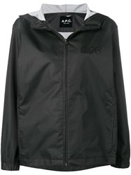 A.P.C. Hooded Parka Black