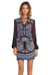 Clover Canyon Stained Glass Dress Black
