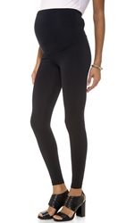 David Lerner Maternity Leggings Black