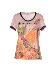 Moschino Cheap And Chic Moschino Cheapandchic Topwear T Shirts Women Pink