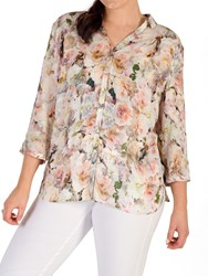 Chesca Floral Shirt Multi