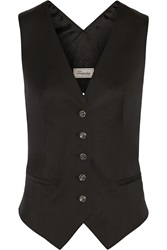 Temperley London Isaac Wool Twill Vest