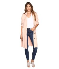 Bb Dakota Artemis Trench Coat Dusty Rose Women's Coat Pink