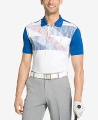 Izod Men's Colorblocked Performance Golf Polo True Blue