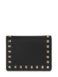 Valentino Garavani Passport Holder Black