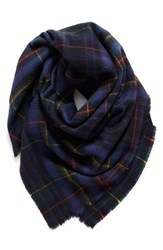 Shiraleah Women's 'Anya' Plaid Oversize Square Scarf