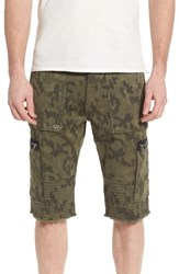 True Religion Big And Tall Brand Jeans Touring Moto Shorts Mist Green