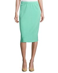 Ming Wang Knit Pencil Skirt Ses