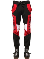 Ktz Patchwork Cotton Jogging Pants