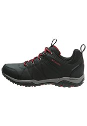Columbia Fire Venture Walking Shoes Black Burnt Henna