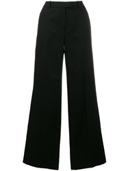 Alexander Terekhov High Waisted Flared Trousers Black