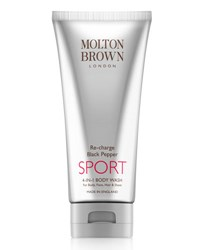 Molton Brown Re Charge Black Pepper Sport 4 In 1 Body Wash 6.6 Oz.